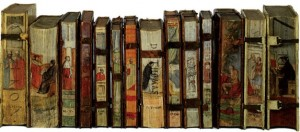 Odorico-Pillone-painted-books-300x132
