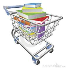 shopping-trolley-cart-full-books-concept-19836392