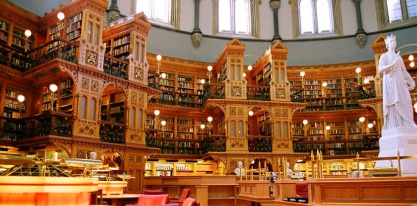 Ottawa Parliament Library