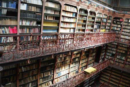 gorgeous libraries via BookishBuzz