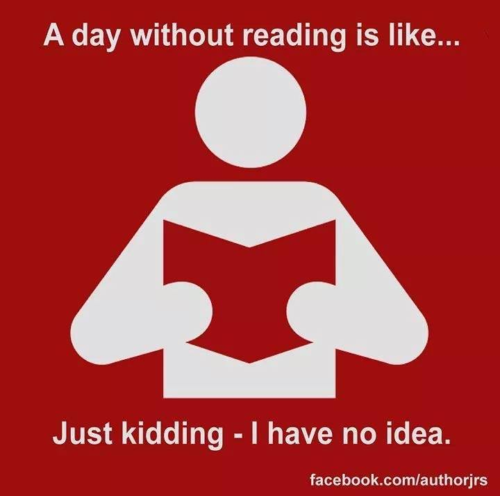 A Day Without Reading... graphic