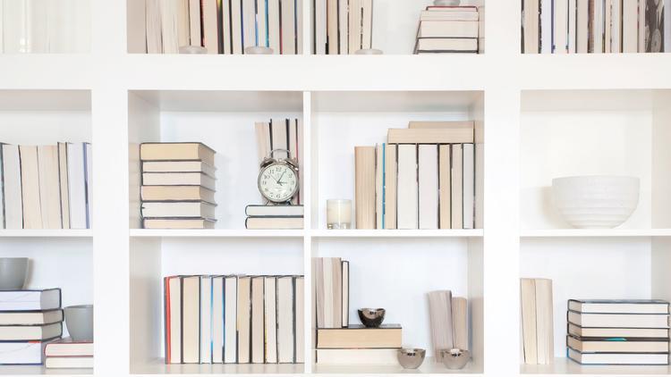 Backward-facing books