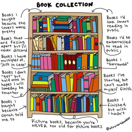 Book collection secret pasts