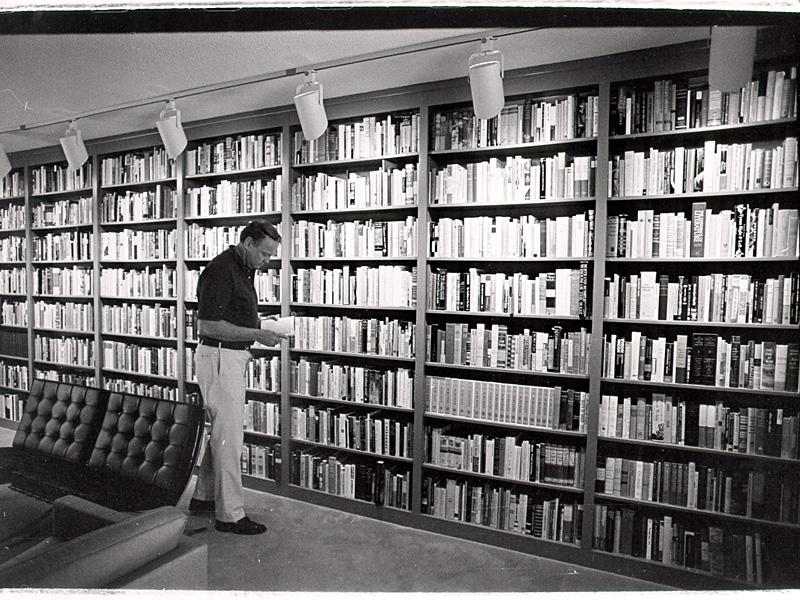 James Dickey's library