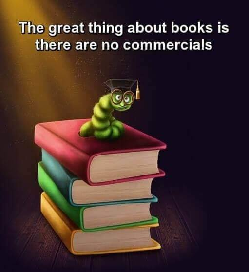 Best thing about books graphic