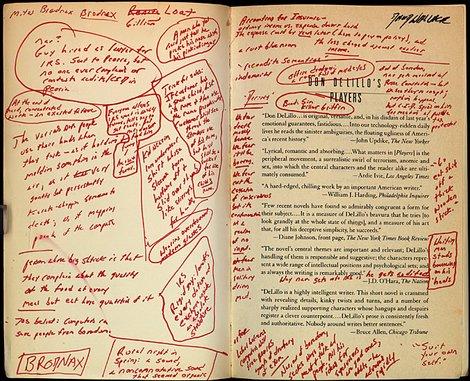 marginal scribblings